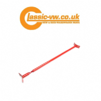 Mk2 Golf Rear Strut Brace. Red, Corrado